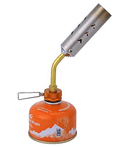 Fire-Maple FMS-706 Bunsenbrander, onkruidverdelger, Blowtorch van roestvrij staal en aluminiumlegering, 4400 watt