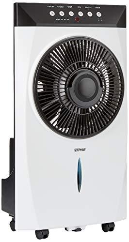Zephir zst31cm Ventilator Vernebler mit Funktion Nebel Wasser Elektronisches Bedienfeld und Fernbedienung
