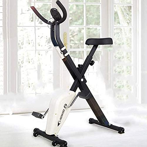 MQIQI Easy-to-Receive Spinning Bike, Indoor Pedaling Laufband, Mit Roller Heimtrainer
