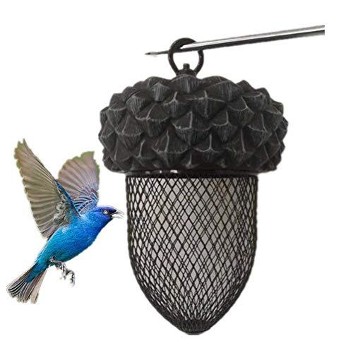 N/C Jardín del colibrí del alimentador del pájaro del alimentador Exterior de Tipo Colgante imitación Metal de Cobre de Campo plástico de alimentación automática Pet Supplies