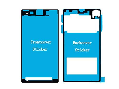 Vleugels voor Sony Xperia Z1 Compact Mini D5503 Front + achterkant backcover dubbelzijdige lijm, kleeffolie hechting voor display en achterkant