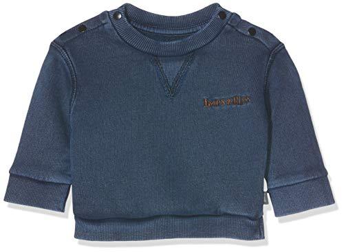 Imps & Elfs Baby-Jungen B Long Sleeve Pullover, Blau (Indigo Blue Dyed P360), (Herstellergröße: 68)