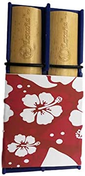 Blue Tenor Saxophone Hibiscus Rockin' Lescan Holder by Max 51% OFF Selling Reed