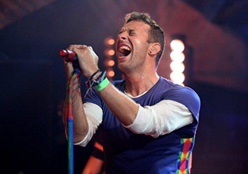 Generic Chris Martin Coldplay Fotodruck Poster A Head Full Dreams Tour 2016 CD 003 (A5-A4-A3), A3