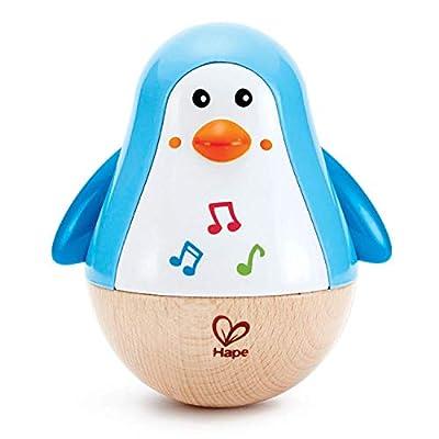 Hape E0331 Penguin Music Wobbler - Baby Musical Instrument from Hape