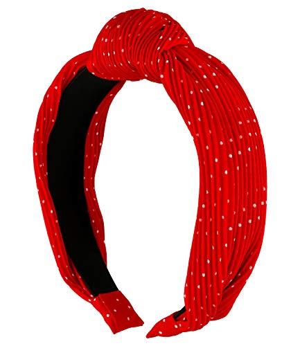 SIX Haarreifen mit Knoten in der Mitte (591-009)