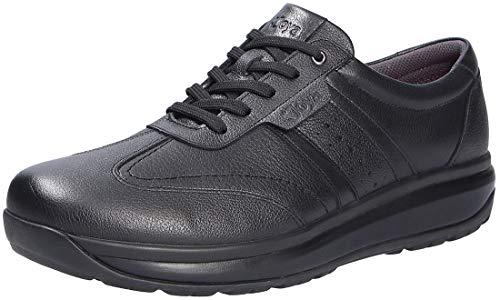 JOYA Zapatos de cordones para hombre, color marrón., color Negro, talla 47 EU Weit