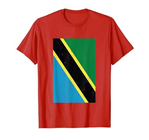 Tanzanie Drapeau Cadeau de voyage tanzanien T-Shirt