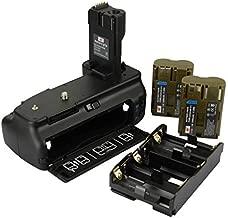 DSTE Replacement for Pro BG-E2N Vertical Battery Grip + 2X BP-511 Battery Compatible Canon EOS 40D 20D 30D 50D SLR Digital Camera
