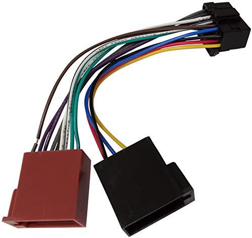 AERZETIX - Cavo adattatore - Spina ISO Z4 - Per autoradio - C1784