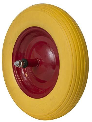 Ama wiel voor kruiwagen, pechbestendig, metalen velg, Ø 368