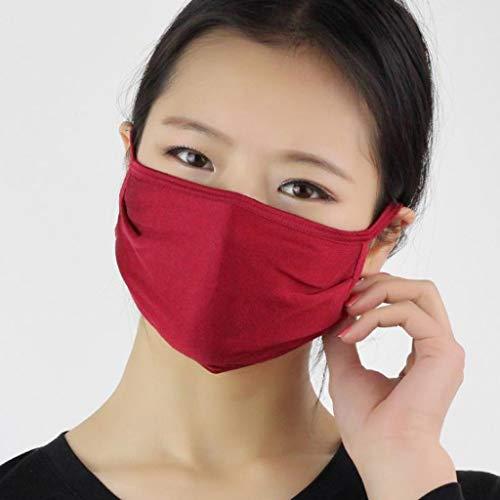 AIORNIYFrauen Wiederverwendbare Gesichtsschutz Staubschutz 1-teilig