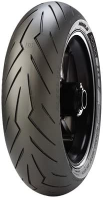 180 60ZR-17 Chicago Mall 75W Pirelli Diablo Factory outlet Rosso Motorcycle 3 Rear Tire fo