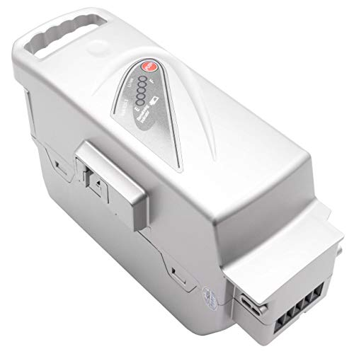 INTENSILO Akku passend für Panasonic Flyer L6, L8, L8 HS, L9, R Street, R Tour, R Urban, R XT E-Bike Elektrofahrrad (23200mAh, 26V, Li-Ion, Silber)