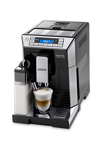 DeLonghi ECAM 45.766.B - Cafetera (Independiente, Máquina espresso, 1,9 L, Granos de café, De café molido, Molinillo...
