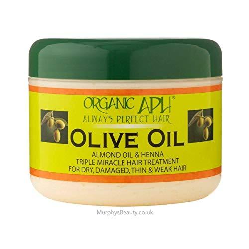 APH Aceite De Almendras Y Henna Triple Tratamiento De Milagro con aceite puro de oliva