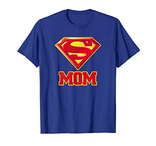 Superman Super Mom T Shirt