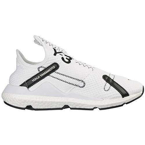 Adidas Y-3 von Yohji Yamamoto Y-3 Reberu Schuhe, Weiß/Schwarz/Weiß