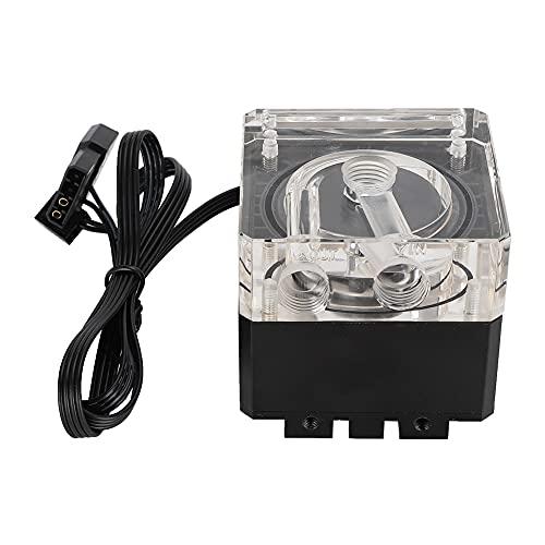 Sistema de refrigeración por agua Bomba Ordenador Enfriador de agua Control de temperatura 5~6 m Bomba de cabezal de descarga 468g