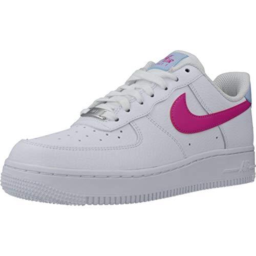Nike Calzado Deportivo Mujer Air Force 1 07 para Mujer Blanco 37.5 EU