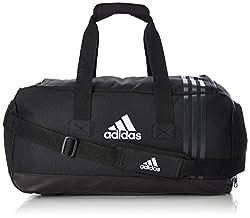 adidas Uni Tiro sports bag, Tiro, Gr. Small (Manufacturer Size: Small), Black / Dark Gray / White