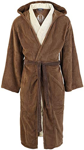 Star Wars Jedi Bademantel braun/beige, 158, 43, 17