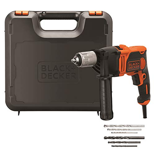 BLACK+DECKER BEH850K-QS - Taladro Percutor Cable 850W