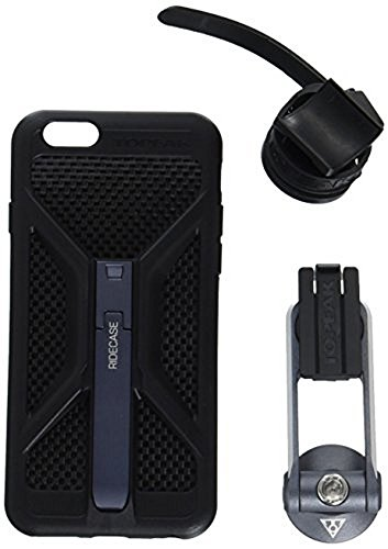 Topeak Unisex IDE Case with Mount for iPhone 6, Black