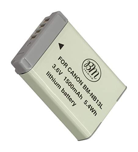 BM Premium NB-13L Battery for Canon PowerShot SX740 HS, G1 X Mark III, G5 X, G5 X Mark II, G7 X, G7 X Mark II, G7 X Mark III, G9 X, G9 X Mark II, SX620 HS, SX720 HS Digital Cameras -  BM-NB13LK1