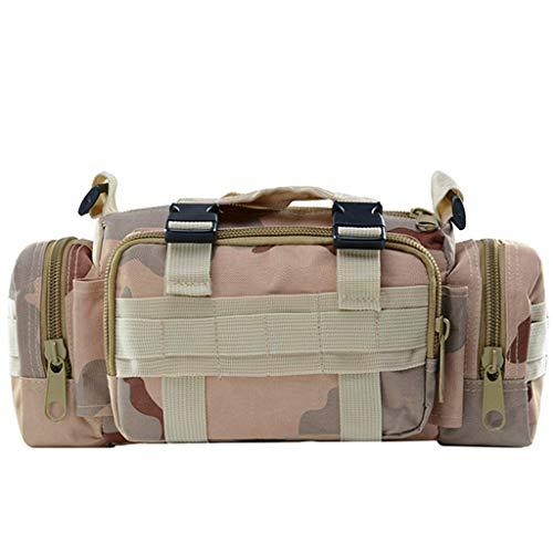 HomeArts 10L Sling Bag Tactical Assault Equipment Bag Randonnée Sac de Taille Sac à bandoulière EDC Camera Bag Molle Modular Military Waist Bag C