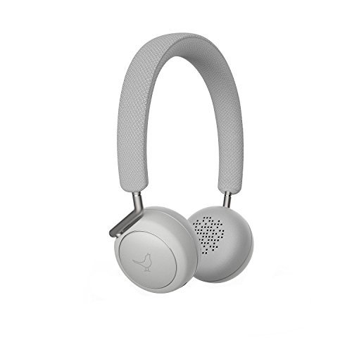 Libratone Q Adapt On-Ear Wireless Kopfhörer mit aktiver Geräuschunterdrückung in 4 Stufen (Bluetooth 4.1 aptX, ANC, 20 Std. Akku, Bluetooth+1, Touch-Bedienung ) cloudy white