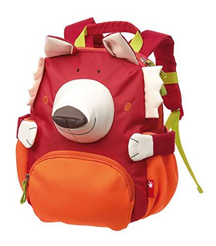 sigikid, Jungen und Mädchen, Mini Rucksack, Motiv Fuchs, Rot, 24919