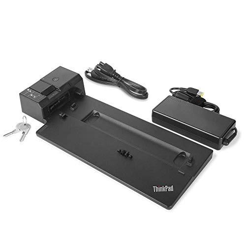 Lenovo USA ThinkPad Ultra Docking Station (P/N; 40AJ0135US) para P52s, L580, L480, T580, P580p, T480s, T480, X1 Carbon Gen 6, X280 (Enewed)