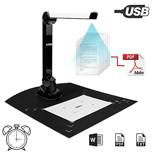 Fantastic Prices! POEO Document Cameras Scanner, with Real-time Projection Video Recording Function,...
