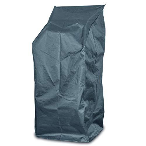 Smart Planet® Bâche de protection en polyester pour chaise de jardin de haute qualité contre les intempéries Imperméable avec cordon de serrage - 65 x 65 x 150/110 cm