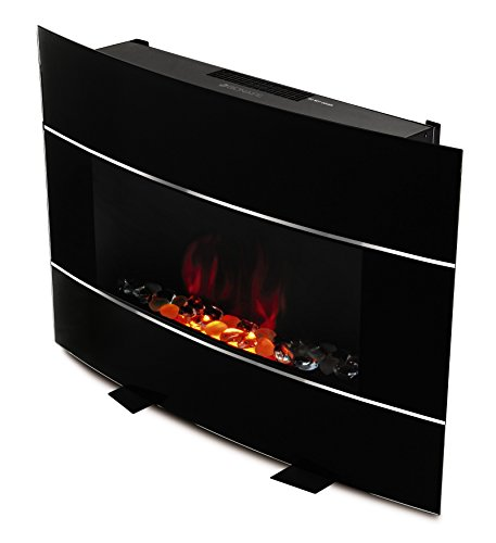 Bionaire BEF6500-UM Electric Fireplace Heater with Remote