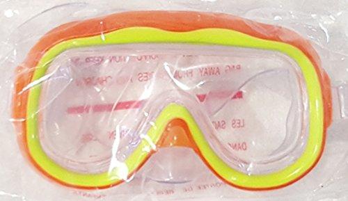 Splash-N-Swim Kids Eyes and Nose Safety Pool Goggles Orange & Yellow