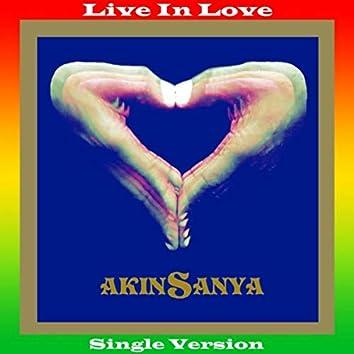 Live in Love (Single Version)