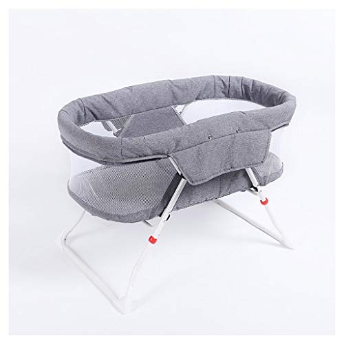 Best Deals! Portable Folding Baby Travel Cot 60 X 48 X 94 cm with Mosquito Net 0-6 Months Crib Bed10...