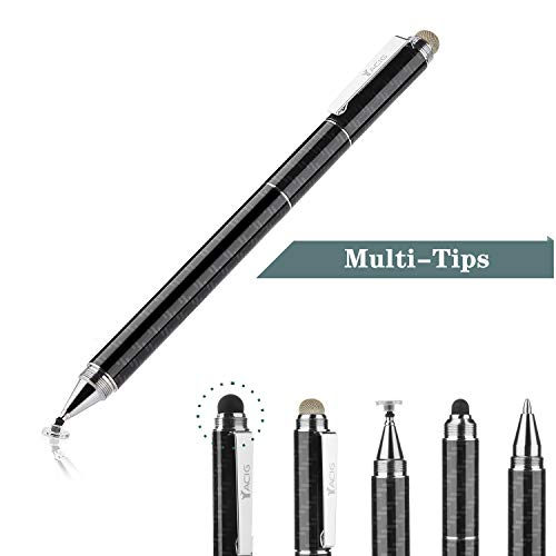 Yacig Capacitive Stylus Pen, 4-in-1 High Sensitivity and...