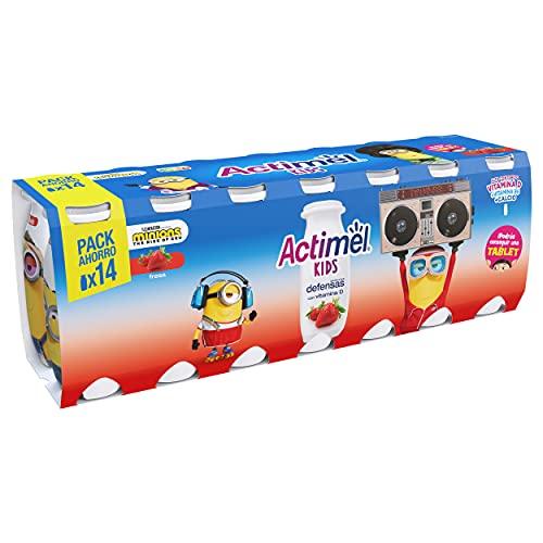 Actimel Kids Fresa 14x100 g