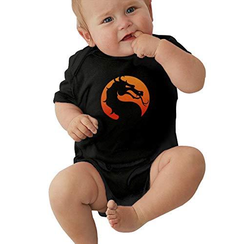 Johnson Hop Mortal-Kombat Logo recién nacido Gilr Boy Niñ