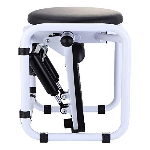TOPYL Aeróbic Stepper Cardio Twister hacia Arriba-Down Stepper Aparato De Ejercicios,Multi-función Stepper Cardio Training,casa Stepper Blanco-a 44x36x33cm(17x14x13inch)