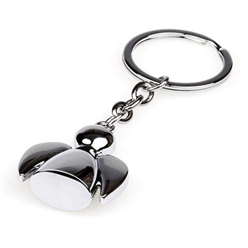 Fashion Lovely Wing Angel Doll Pendant Bag Charm Key Ring Holder Keychain Gift GlobalDeal Direct