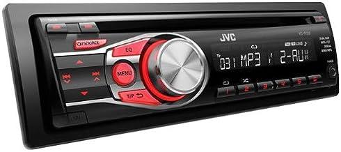 JVC KD-R331E - Radio CD para coche (200 W, doble AUX-IN),