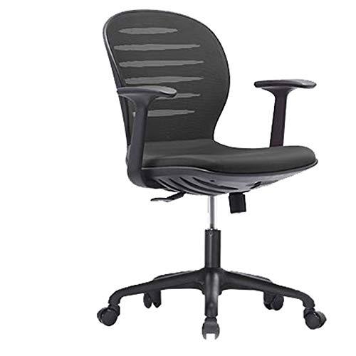 Huoqiin Bureaustoel, stoel, zonder armleuningen, draaistoel, bureaustoel