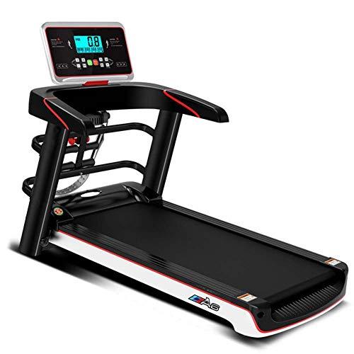 AZZ Technogym - Cinta de correr eléctrica plegable, con pantalla LCD, 12 programas de deporte, plegado de un clic