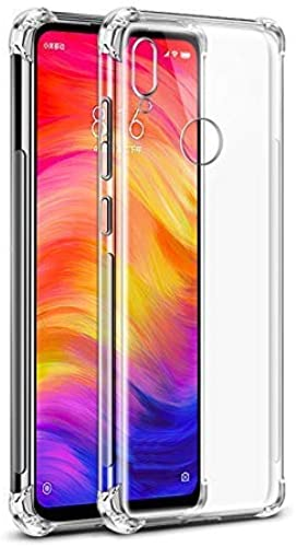 Plus Shockproof Clear Transparent Hard Back Hybrid Soft Bumper Anti Scratch Back Cover For Xiaomi Redmi Note 7 Redmi Note 7 Pro Redmi Note 7S