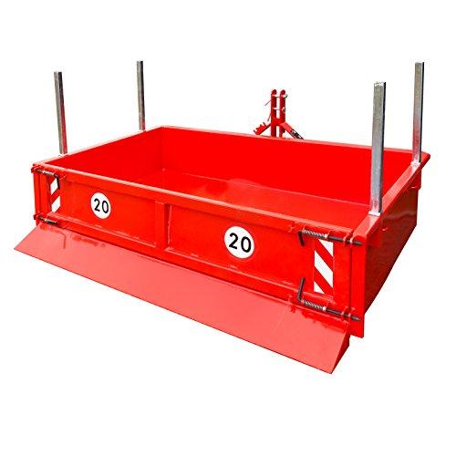 DEMA Heckcontainer hydraulisch 125x200x40 cm