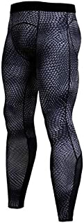 BEESCLOVER Men's Sports Wear Tights Running Compression Pants Men Bodybuilding Skinny Leggings Joggers Pants Fitness Men Trousers